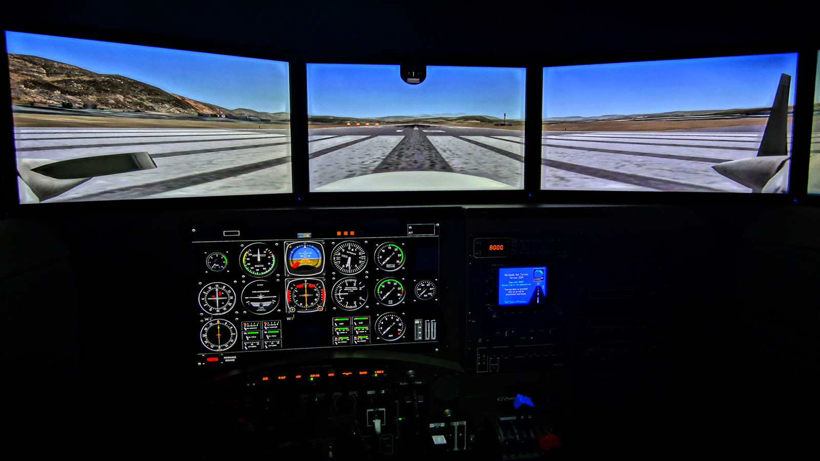 flight training simulator